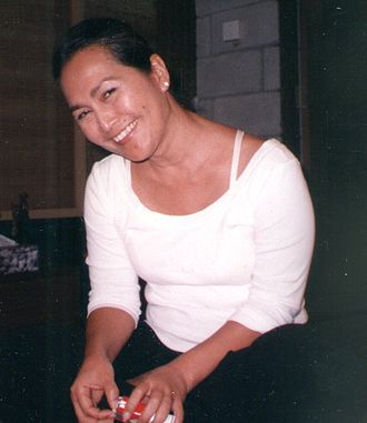 Yasmin Ahmad - Ahmad in 2006, three years before her death.