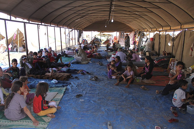 File:Yazidi refugees.jpg