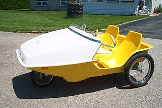 Velomobile - A two-seat People Powered Vehicle