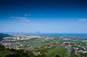 Yilan County, Taiwan - Yilan Plain