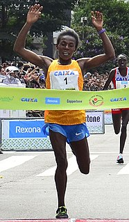 Wude Ayalew Ethiopian long-distance runner