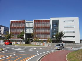 Yokkaichi Nursing and Medical Care University in Sep. 2013.jpg