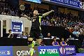 Yonex IFB 2013 - Quarterfinal - Liu Xiaolong - Qiu Zihan vs Mathias Boe - Carsten Mogensen 01.jpg