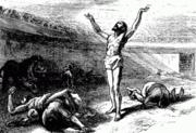 Perseguição dos cristãos.