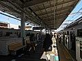 Yoyogiuehara Station platforms March 20 2020 - various.jpeg
