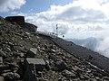 Yr Wyddfa summit station and points - geograph.org.uk - 1491314.jpg