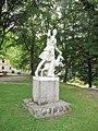 Zámek Kynžvart, socha Diany.jpg