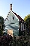 foto van Houten huis met voorschot in rococo-stijl
