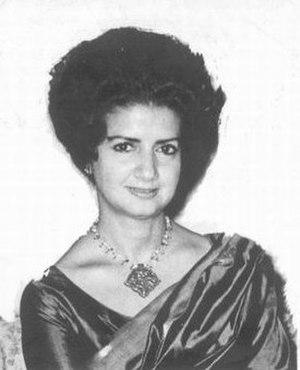 Zaib-un-Nissa Hamidullah - Zaib-un-Nissa Hamidullah, circa 1970.
