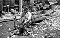 Zgornji Brezen, (samotiž) sani za prevoz lesa 1963.jpg