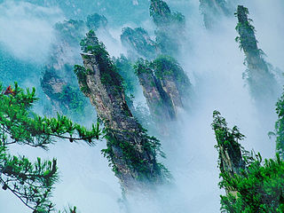 scenic and historic interest area in Hunan Province, China