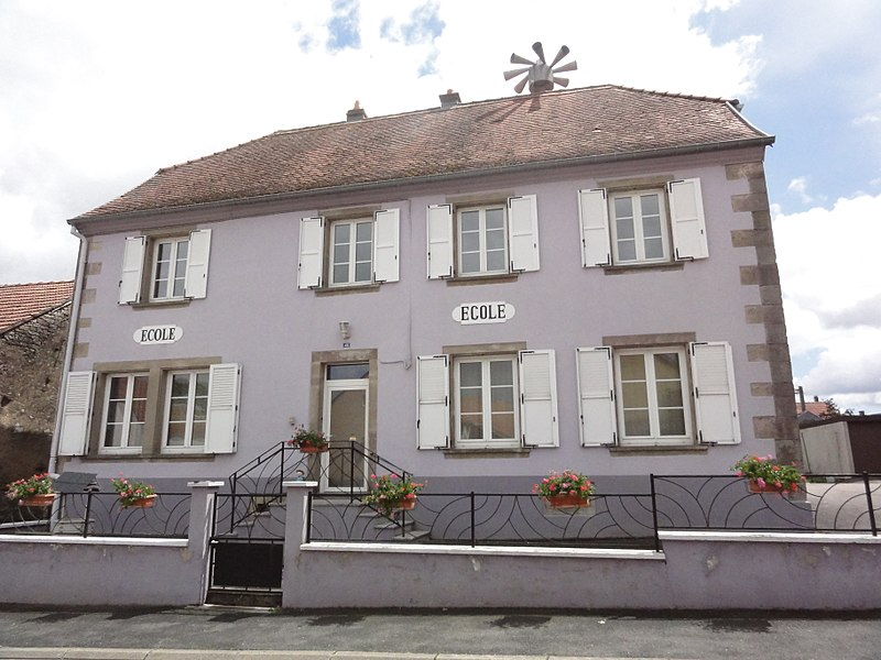 Zilling (Moselle) école