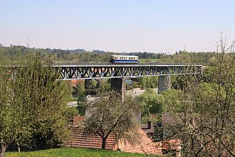 Zwettl - Railway Viaduct over Zwettl and the Kamp river