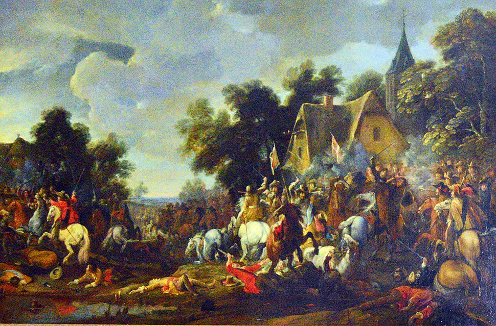 """Battle Scene from the 80 Years War"" by David Temiers the Younger"