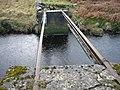 """None"" bridge over Hunter's Burn - geograph.org.uk - 358143.jpg"