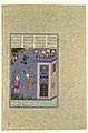"""""""Rudaba Makes a Ladder of Her Tresses"""", Folio 72v from the Shahnama (Book of Kings) of Shah Tahmasp MET DP107123.jpg"""