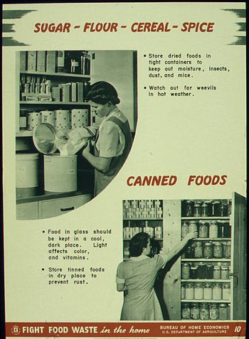 """Sugar-Flour-Cereal-Spice Canned Food&quo..."