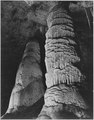 """The Giant Dome, largest stalagmite thus far discovered. It is 16 feet in diameter and estimated to be 60 million years - NARA - 520028.tif"