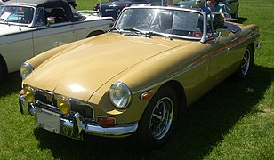 '73 MG MGB Roadster (Hudson)