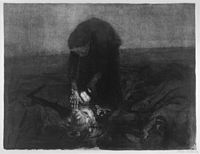 'Battlefield', by Käthe Kollwitz, Honolulu Museum of Art.jpg