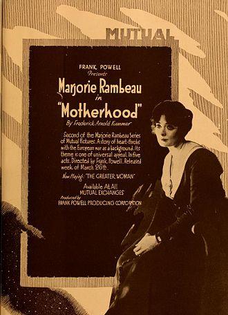 Motherhood (1917 film) - Advertisement