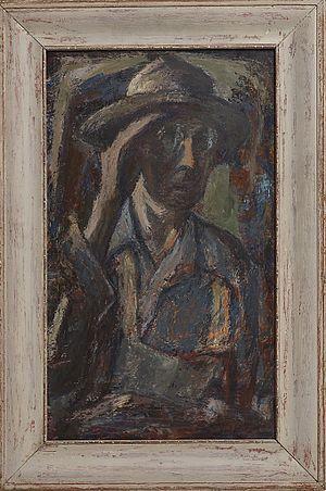 Amanda Snyder - Self-portrait, 1948
