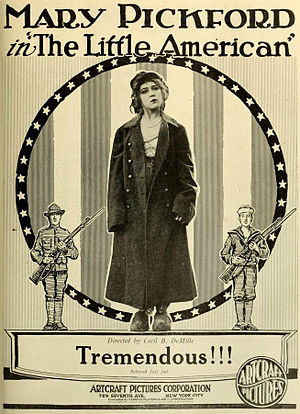 The Little American - ad for the film