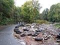 'Tyred' on Club Mill Road, Neepsend, Sheffield - geograph.org.uk - 1035030.jpg