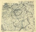 (April 6, 1945), HQ Twelfth Army Group situation map. LOC 2004631927.tif