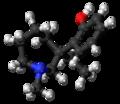 (S)-Meptazinol molecule ball.png