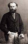 ナダールによるマネの肖像写真(1867-1870頃)
