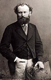 Édouard Manet (portrait by Nadar).
