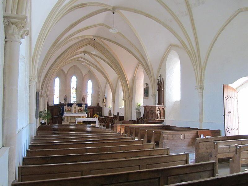 Église Notre-Dame de fr:Pierreville (Manche)