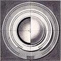 Étienne-Louis Boullée, Cénotaphe de Newton - 01 - Plan du Cénotaphe de Newton.jpg