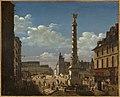 Étienne Bouhot - La place et la fontaine du Châtelet - P1286 - musée Carnavalet - 3.jpg