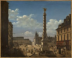 Étienne Bouhot: La Place du Châtelet
