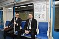 İlham Əliyev paytaxta gətirilən yeni metro qatarlarında yaradılan şəraitlə tanış olub 6.jpg