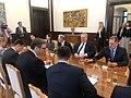 Συνάντηση ΥΠΕΞ Ν. Κοτζιά με τον Πρόεδρο της Σερβίας A. Vučić στο Βελιγράδι (41385513271).jpg