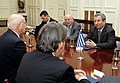 Συνάντηση ΥΠΕΞ Σ. Δήμα με Αντιπρόεδρο και Υπουργό Άμυνας του Ισραήλ E. Barak (6679358365).jpg
