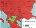 Граници на Охридската Архиепископија - 1334-36 г. (цар Душан).jpg