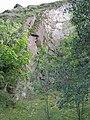 Двохшарове трипільське поселення, середньовічне замчисько, на вершині гори 03.jpg