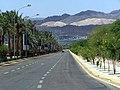 Дорога в Акабу с видом на Эйлат - panoramio.jpg