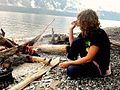 Катя на берегу.JPG