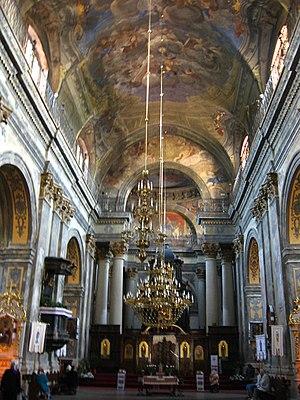 Carmelite Church, Lviv - Image: Костел кармелитов Львов 007