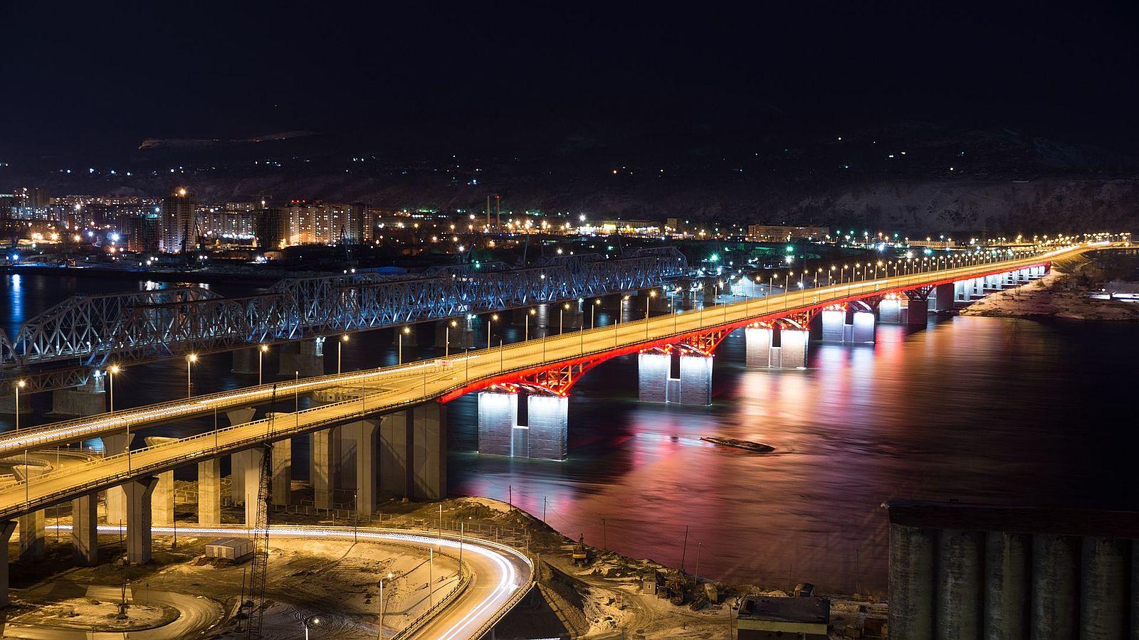 новый мост в красноярске фото предлагает вам снять