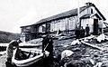 Норвежская семья Ойен - одна из первых, переселившихся на Мурманский берег. Колония Цып-Наволок. 1930-е годы..JPG