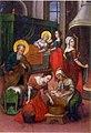 Різдво Богородиці Українська ікона 1722 р. Йов Кондзелевич.jpg