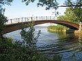 Стрельна. Портовый канал, пешеходный мост03.jpg