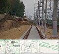 Строительство 4 главного пути Реутово - Железнодорожная (15006598158).jpg