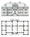 Фасад и план Свадебных палат.jpg